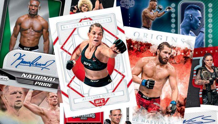 STEAL DEAL : 2021 Panini Chronicles UFC Hobby RANDOM FIGHTER Group Break #6920