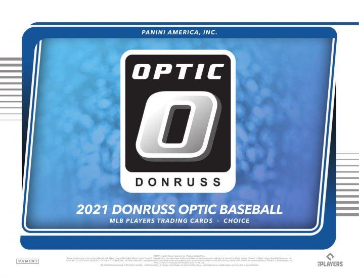 FINAL BOXES : 2021 Panini Optic Choice Baseball 1/2 Case RANDOM TEAM Group Break #6911