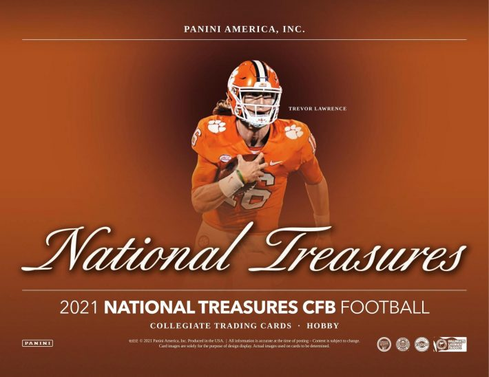 HOT RELEASE : 2021 Panini National Treasures Collegiate 1/2 Case PICK YOUR PRICE Group Break #6912
