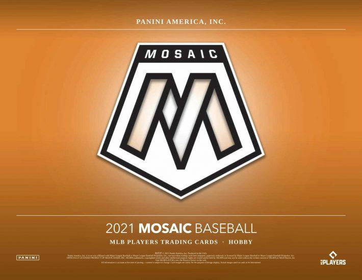 NEW RELEASE : 2021 Panini Mosaic Hobby Baseball Case PICK YOUR PRICE Group Break #6915